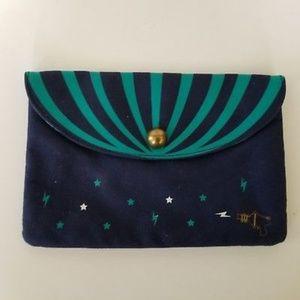 Benefit San Francisco Navy Blue Skyline Makeup Bag